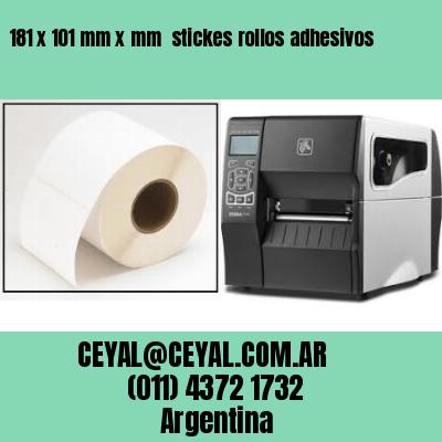 181 x 101 mm x mm  stickes rollos adhesivos