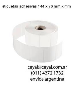 etiquetas adhesivas 144 x 76 mm x mm