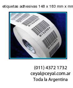etiquetas adhesivas 148 x 183 mm x mm