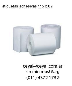 etiquetas adhesivas 115 x 87