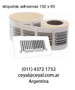 etiquetas adhesivas 150 x 85