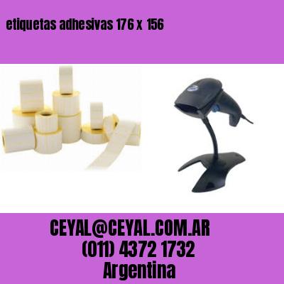 etiquetas adhesivas 176 x 156