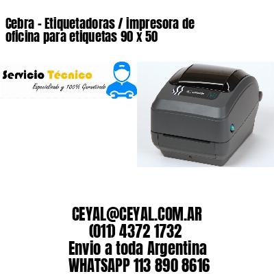 Cebra - Etiquetadoras / impresora de oficina para etiquetas 90 x 50