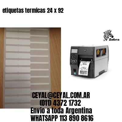 etiquetas termicas 24 x 92