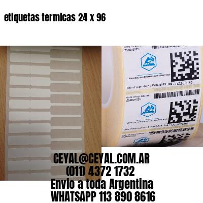etiquetas termicas 24 x 96