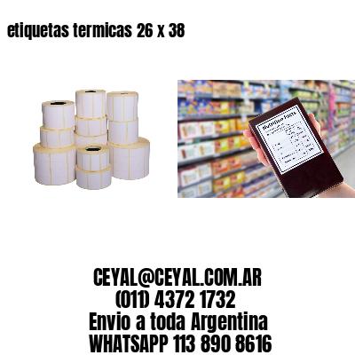 etiquetas termicas 26 x 38