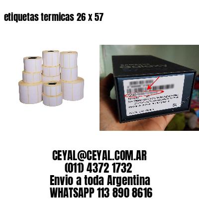 etiquetas termicas 26 x 57