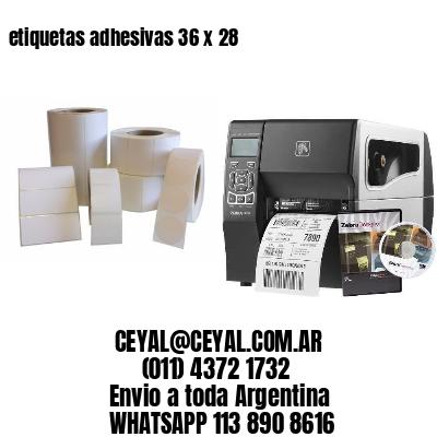 etiquetas adhesivas 36 x 28