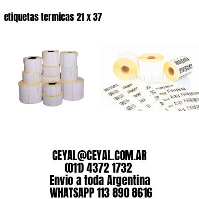 etiquetas termicas 21 x 37