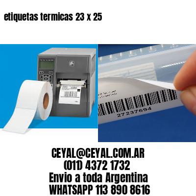 etiquetas termicas 23 x 25