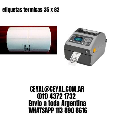 etiquetas termicas 35 x 82