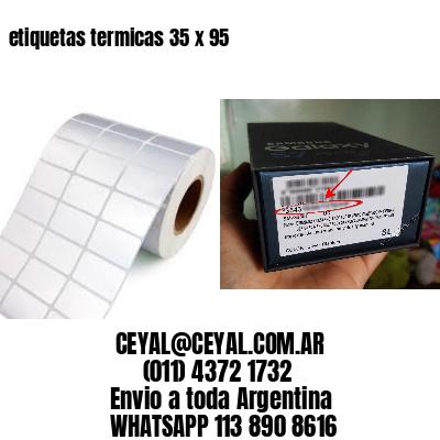 etiquetas termicas 35 x 95